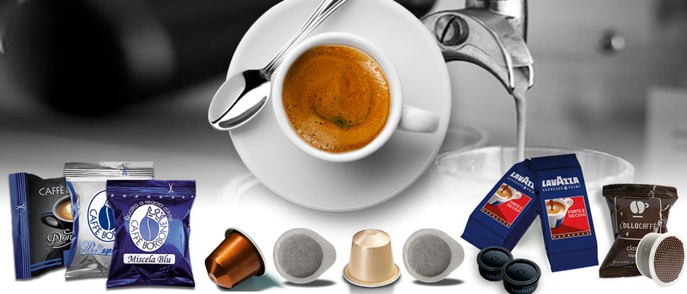 Vendita ingrosso caffè cialde e capsule