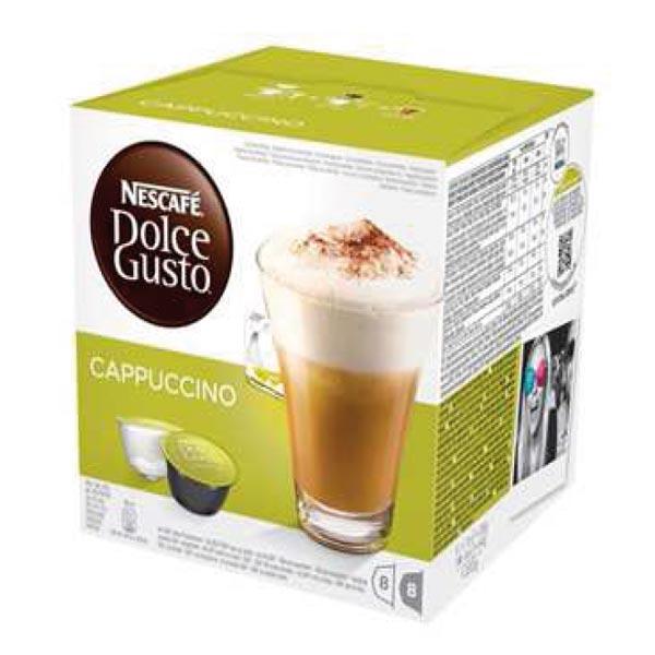 Capsula Nestresso Dolce Gusto cappuccino